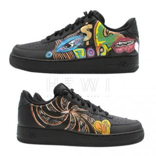 Bespoke customised by ALA  Air Force 1 Low Trainers