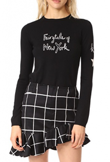 Bella Freud For Fashion Saves Lives 'Fairytale of New York' Jumper