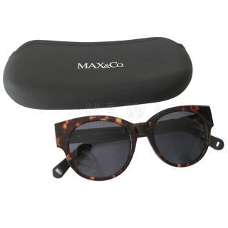 Max & Co Tortoiseshell Round Sunglasses