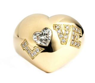 Chopard 18k Gold Love Ring