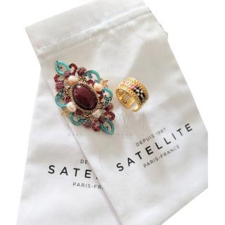Satellite Paris Gabrielle Brooch & Ring