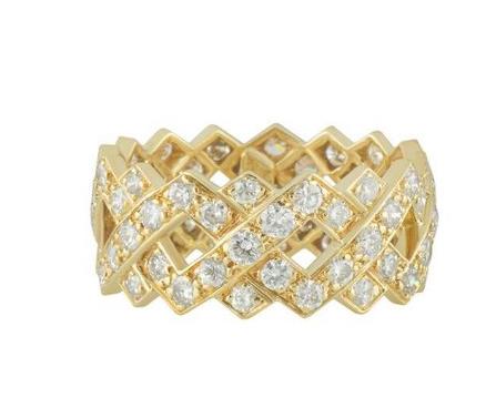Bespoke Yellow Gold Diamond Ring