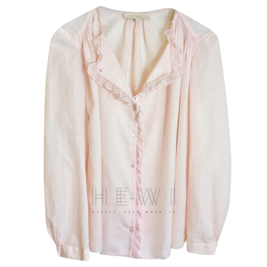 Vanessa Bruno Pale Pink Blouse