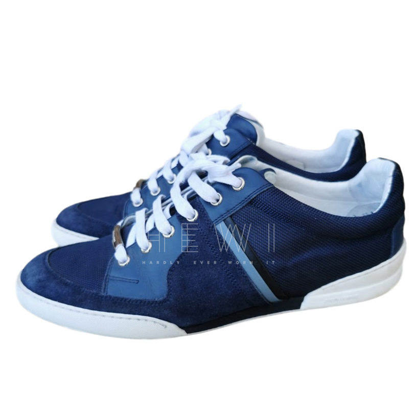Dior Homme B01 Navy Trainers