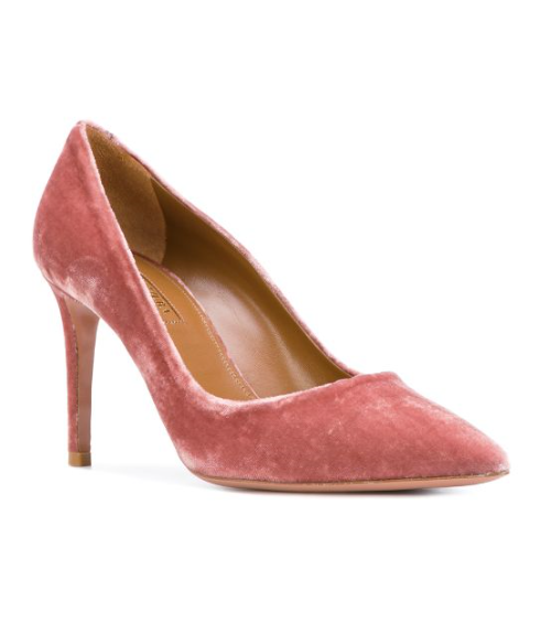 Aquazzura Vintage Rose Simply Irresistible Pump 85