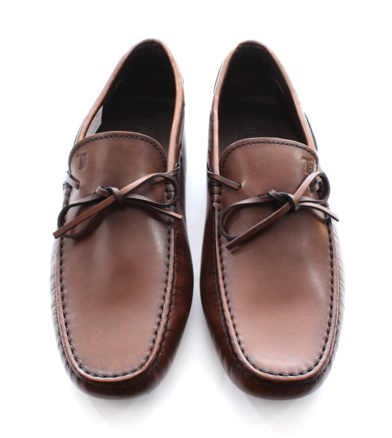 Tod�s Brown Leather Loafers