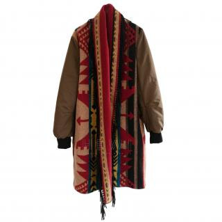 That's It Bomber Blanket Coat