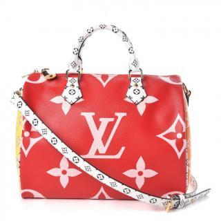Louis Vuitton Monogram Giant Speedy Bandouliere 30