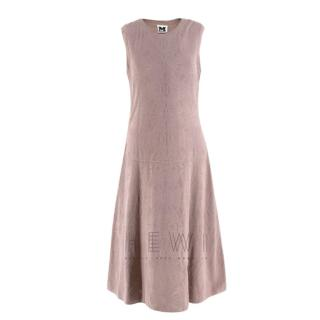 M Missoni Dusty Pink Knit Sleeveless Dress