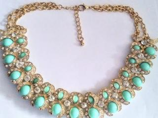 Bespoke Crystal Chandalier Necklace