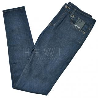 Saint Laurent indigo skinny jeans