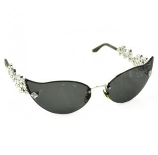 Louis Vuitton Limited Edition 75BR6 Cat-Eye Sunglasses