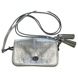 Coach Metallic Mini Crossbody Bag