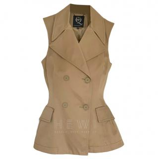 McQ by Alexander McQueen Tailored Double Breasted Vest