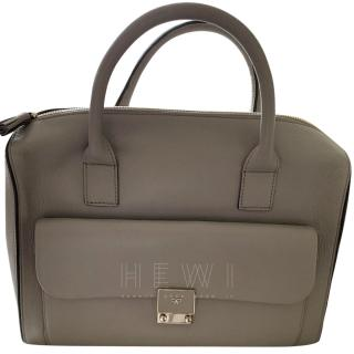 Anya Hindmarch Taupe Satchel Bag