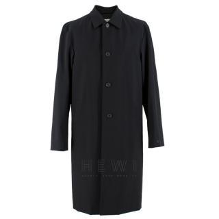 Prada Black Single-Breasted Coat
