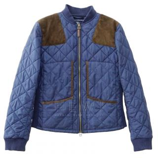 Ralph Lauren Sport Navy Quilted Jacket
