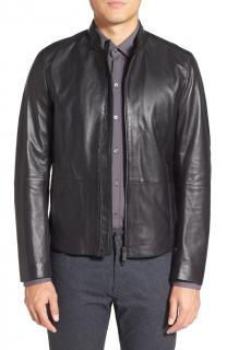 Hugo Boss Black Label Lambskin Leather Jacket