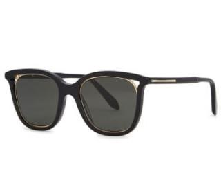 Victoria Beckham Cut Away Square-frame Sunglasses