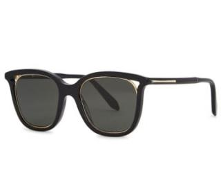Victoria Beckham Cut Away Square-frame Sunglasses