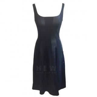 Escada Kleid Lace-Up A-Line Dress