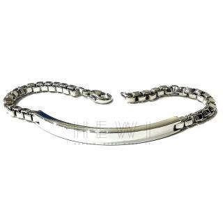 Tiffany & Co Venitian link ID bracelet