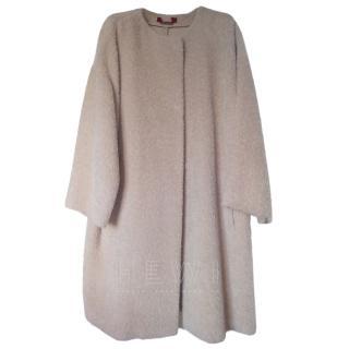 MaxMara Alpaca Wool Blend Coat