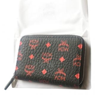 MCM Black & Red Special Edition Wallet
