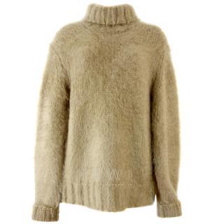 Michael Kors Wool & Mohair Blend Roll-Neck Sweater