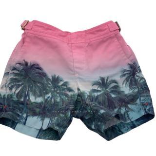 Orlebar Brown Boy's Palm Tree Russell Swim Shorts
