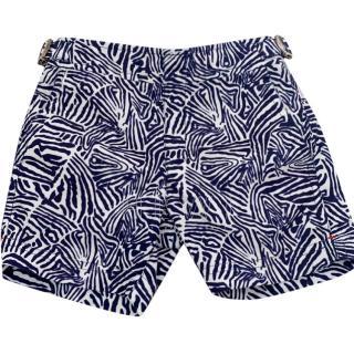Orlebar Brown Boy's Printed Russell Swim Shorts