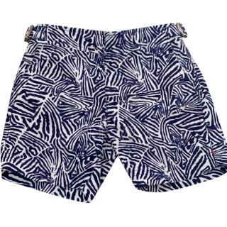 Orlebar Brown Boy's Printed Russell Swim Shorts