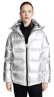 SJYP silver goose down jacket