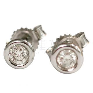 Bespoke 0.50ct Diamond Solitaire Earrings