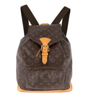 Louis Vuitton Monogram Montsouris Canvas Backpack