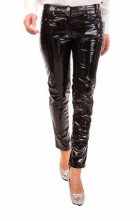 Boutique Moschino Wet Look PVC Trousers