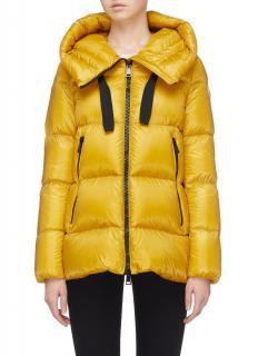 Moncler Yellow Serin Puffer Jacket