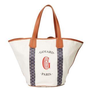 Goyard Reversible Belharra Biarritz Tote Bag