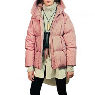 Moncler Pink Nerium Padded Jacket