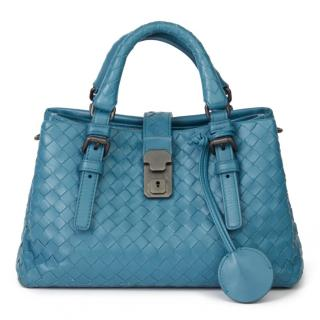 Bottega Veneta Intrecciato Leather Mini Roma Bag