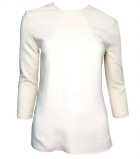 Victoria Beckham Tailored Ivory Top