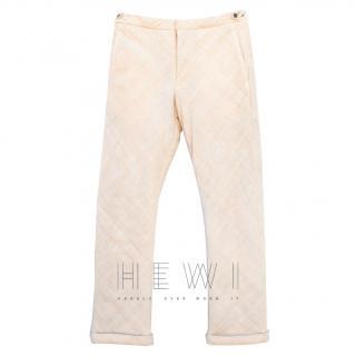 Comme des Garcons Homme Ivory Pants