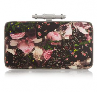 Givenchy Camouflage Roses Obsedia Minaudiere Clutch