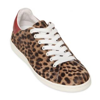 Isabel Marant Calf-Hair Bart Sneakers