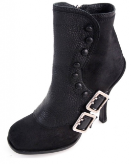 Christian Dior Suede & Leather Ankle Boots