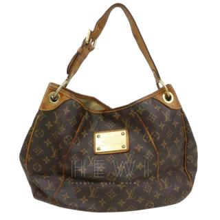 Louis Vuitton Galliera PM Brown Monogram Tote Bag