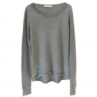 Dorothee Schumacher Grey Cashmere Sweater
