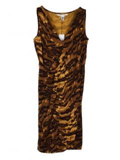 Diane Von Furstenberg leopard print dress