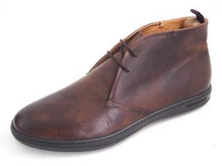 Giorgio Armani Antique Brown Ankle Boots