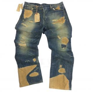 Denim & Supply Denim & Canvas Distressed Jeans